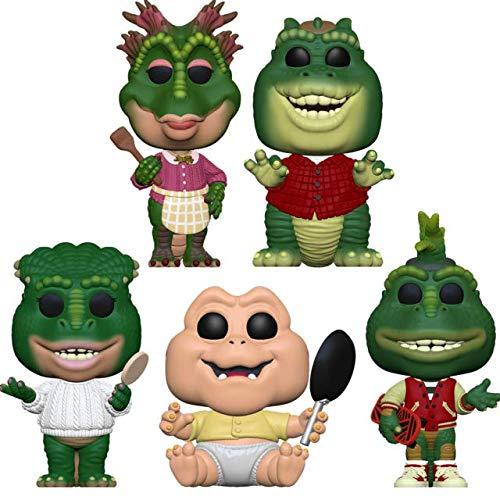 "Funko Pop! Television: Dinosaurs TV Series Collectible Vinyl Figures, 3.75"" (Set of 5)"