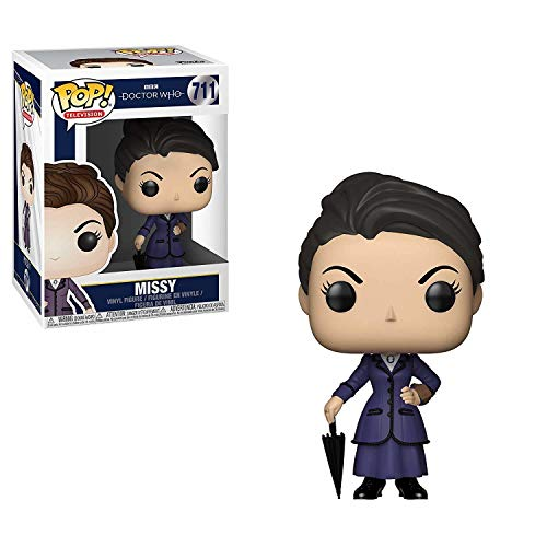 Funko Pop Television: Doctor Who - Missy Collectible Figure, Multicolor