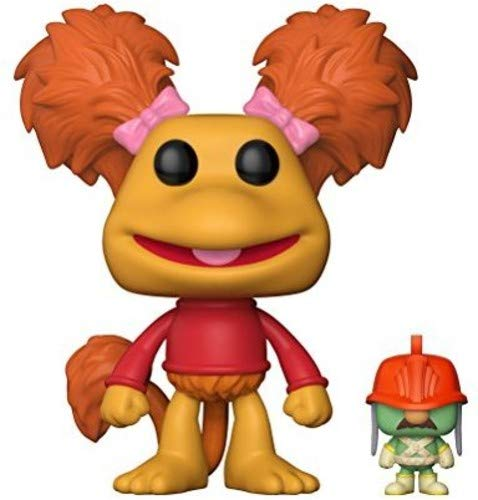 Funko Pop! Television: Fraggle Rock - Red with Doozer Collectible Toy,Orange
