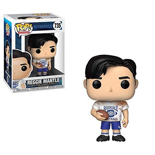 Funko Pop Television: Riverdale - Reggie in Football Uniform Collectible Figure, Multicolor