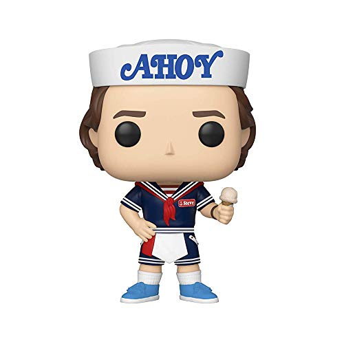 Funko Pop! Television: Stranger Things - Steve with Hat & Ice Cream