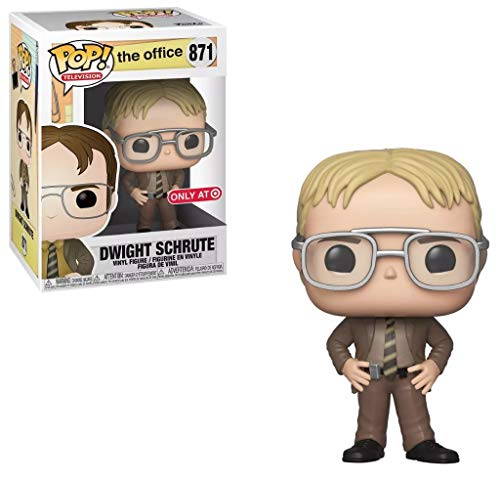Funko Pop! Television: The Office - Dwight Schrute with Blonde Hair Exclusive Vinyl Figure #871