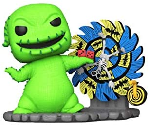Funko Pop! The Nightmare Before Christmas Oogie Boogie whel Wheel Exclusive Figure 811