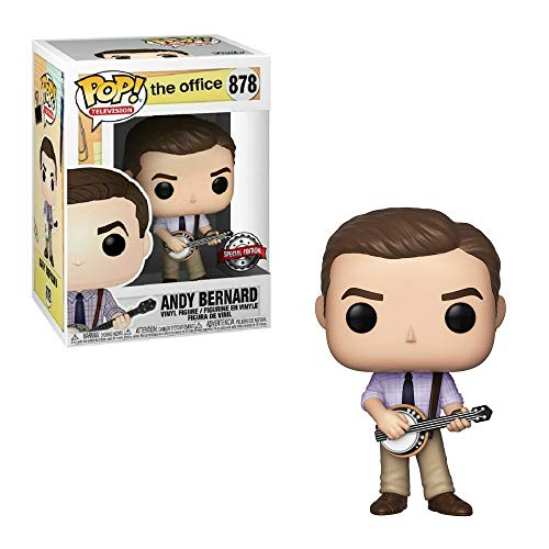 Funko Pop The Office Andy Bernard with Banjo