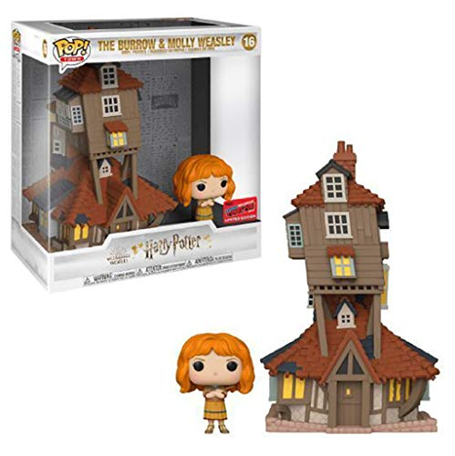 Funko Pop! Town: Harry Potter The Burrow and Molly Weasley Funko Pop! Vinyl Figure – Funko Shop & NYCC 2020 Shared Exclusive