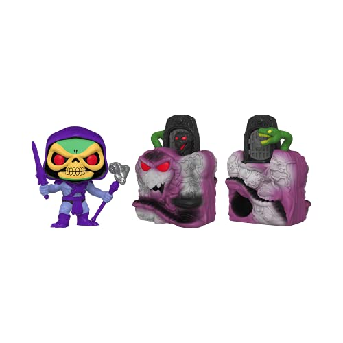 Funko Pop! Town Retro Toys: Master's of The Universe - Skeletor with Snake Mountain