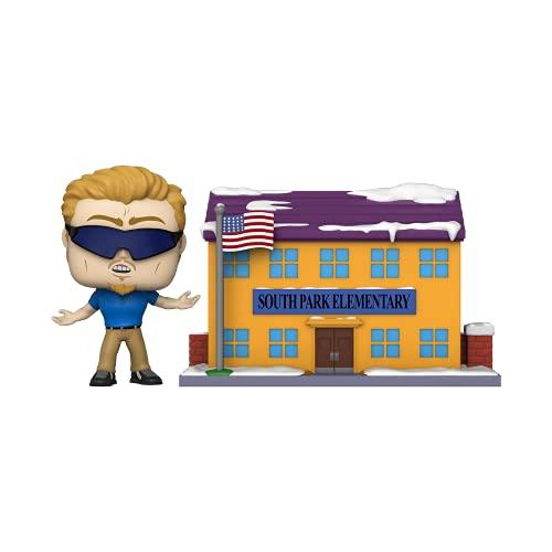 Funko Pop! Town: South Park - South Park Elementary w/ PC Principal