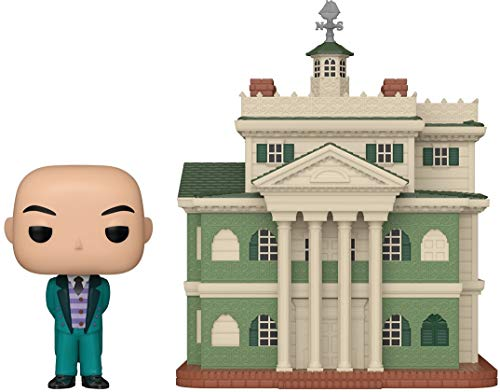 Funko Pop Towns: Disney Parks - Haunted Mansion with Butler, Multicolor, 6 inches