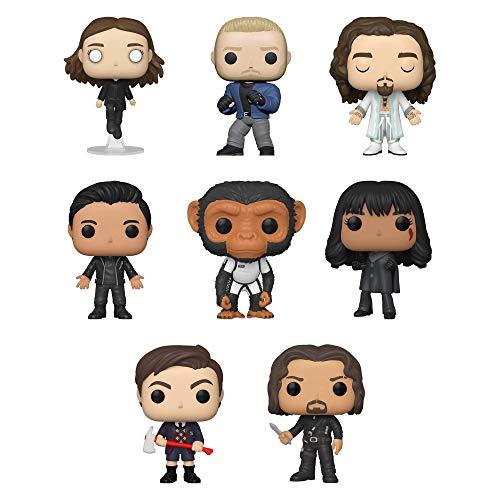 Funko Pop! Umbrella Academy Set of 8: Diego, Vanya, Allison, Baby Pogo, Ben, Number Five, Klaus and Luther