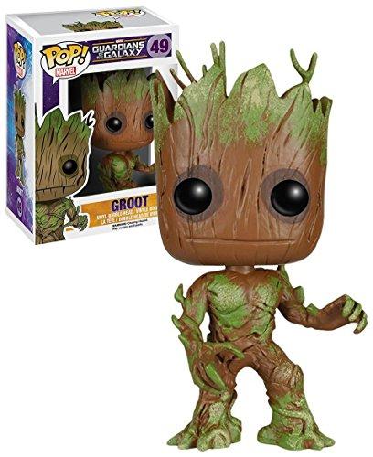 Funko Pop Vinyl Marvel's Guardians of the Galaxy Groot Extra Mossy Bobblehead Figure