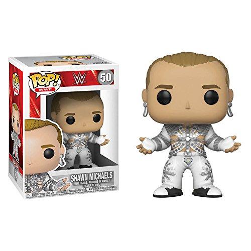Funko Pop WWE: WWE Shawn Michaels (WrestleMania12) Collectible Figure, Multicolor