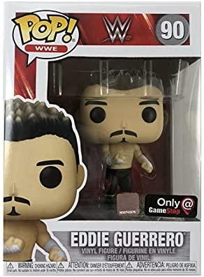 Funko Pop! WWE Wrestlemania XX 20 Eddie Guerrero with Pin Exclusive Bundle #90