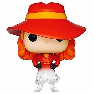 Funko Pop! Where in The World is Carmen Sandiego - Fading Translucent Carmen