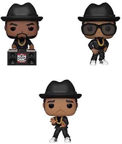 Funko Rocks: POP! Run-DMC Collectors Set - Jam Master Jay, DMC, Run
