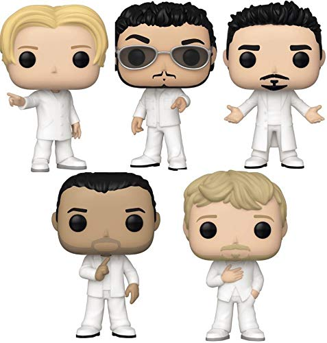 Funko Rocks: Pop! Backstreet Boys - Nick Carter, Brian Littrell, Kevin Richardson, AJ Mclean, Howie Dorough