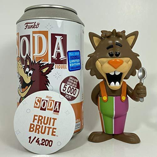 Funko Soda Fruite Brute Wondercon le 5000 Non Chase