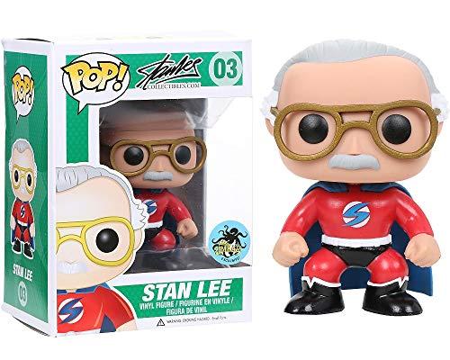 Funko Stan Lee Red Superhero Pop Vinyl Exclusive