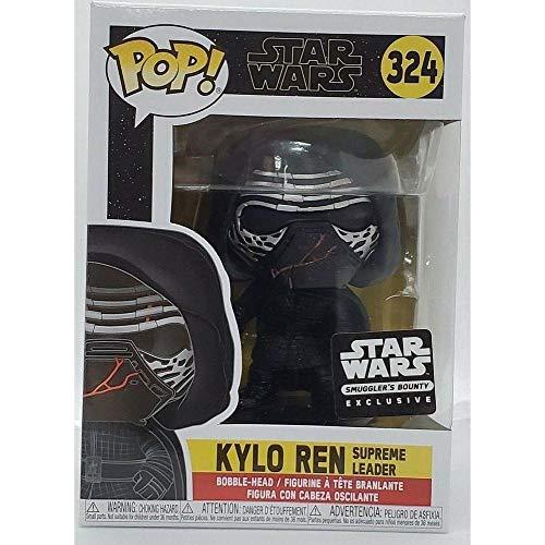 "Funko Star Wars POP! #324 ""Kylo Ren Vinyl Bobble Head - Smugglers Bounty"