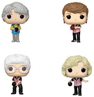 Funko TV: POP! Golden Girls Collectors Set 2 - Sophia in Bowling Uniform, Blanche in Bowling Uniform, Dorothy in Bowling Uniform, Rose in Bowling Uniform