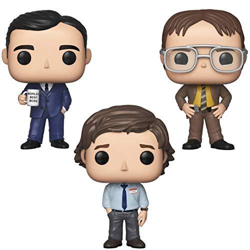 Funko TV: Pop! The Office - Michael Scott, Dwight Schrutte, Jim Halpert