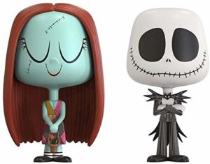 Funko VYNL: The Nightmare Before Christmas Jack & Sally Collectible Figure,Multi