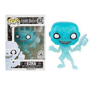 Funko Vinyl POP Haunted Mansion Ezra Hitchhiking Ghost Disney Store Collectible Vinyl Error Figure Nib