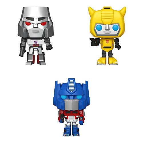 Funko Vinyl: POP! Transformers Collectors Set - Optimus Prime, Bumblebee, Megatron