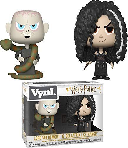 Funko Vynl: Harry Potter - Bellatrix & Voldemort 2Pack Collectible Figure, Multicolor