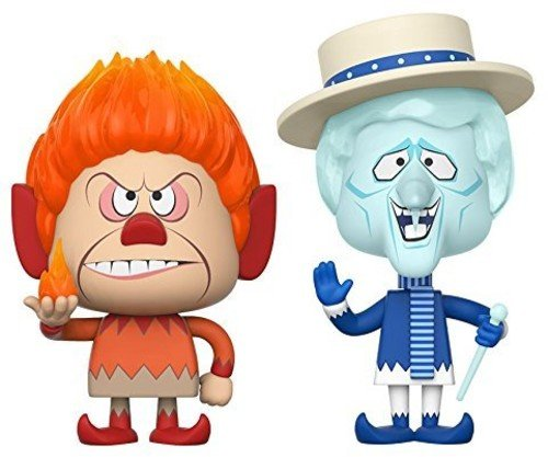 Funko Vynl: The Year Without A Santa Claus - Heat Miser & Snow Miser Collectible Vinyl Figure