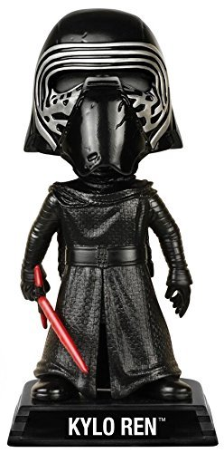 Funko Wacky Wobbler Star Wars: Episode 7 - Kylo Ren with Helmet Action Figure