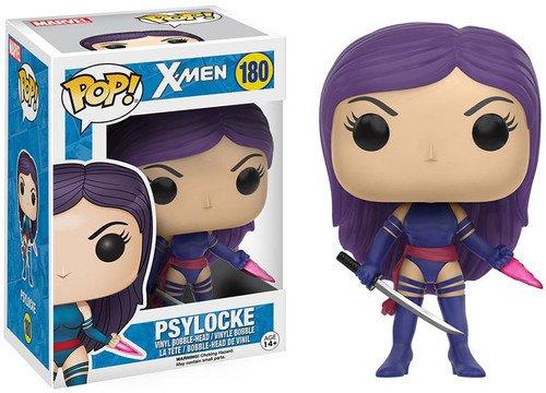Funko X-Men Psylocke Pop Marvel Figure,Multi