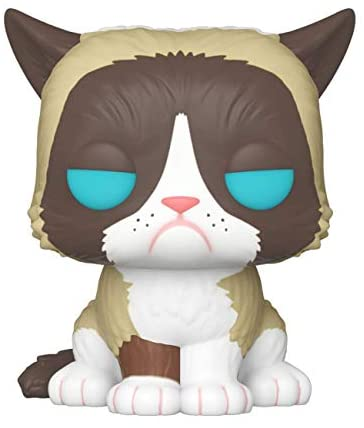 Funko Your Favorite Grumpy Cat, Stylized as a Pop! Vinyl from, Multicolor (34107)