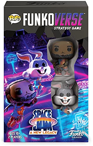 Funkoverse: Space Jam 2: A New Legacy 100 2-Pack, Lebron James and Bugs Bunny