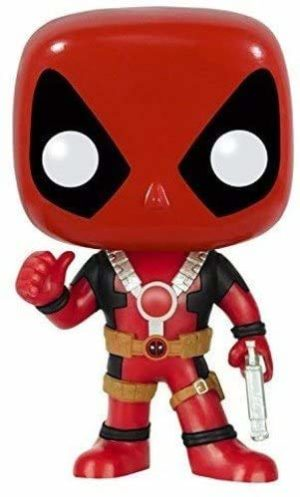 Limited Edition - POP Marvel: Deadpool Thumbs Up Action Figure
