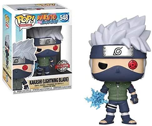 Naruto Shippuden - Kakashi (Lightning Blade) POP Figure #548 Special Edition Exclusive