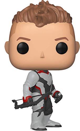 POP! Avengers Hawkeye In Team Suit Pop Bobblehead Figure (4 Inch, Multicolor)