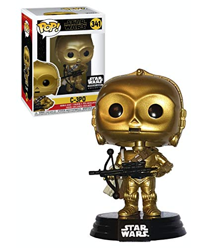 POP C-3PO (Rise of Skywalker) (with Bowcaster) - Smuggler's Bounty Exclusive
