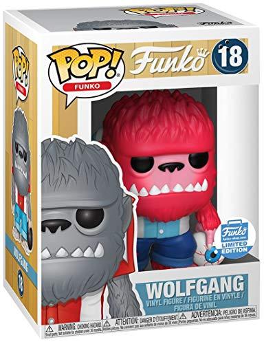 POP! Fantastik Plastik: Funko #18 - Wolfgang {Pink} (Funko Shop Limited Edition)