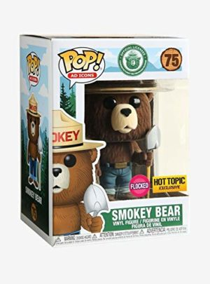 POP! Funko Ad Icons - Smokey Bear - Flocked Limited Edition Exclusive