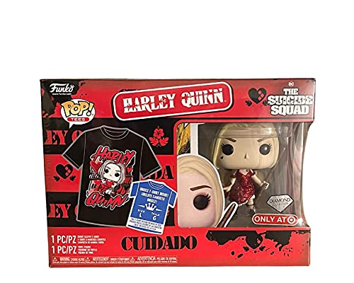 POP Funko Collector's Box: Suicide Squad - Harley Quinn Large Tee