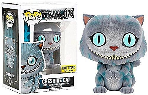 POP! Funko Disney: Alice in Wonderland Cheshire Cat Flocked #178 Hot Topic Exclusive
