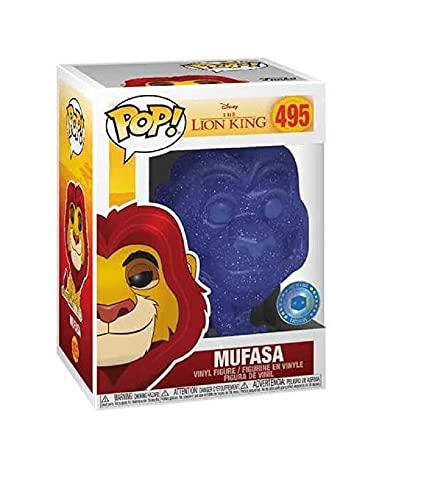 POP Funko Disney The Lion King Spirit Mufasa PIAB Exclusive Figure Blue