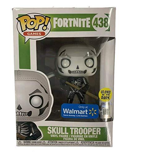 POP Funko Games: Fortnite S3 - Skull Trooper (Glow) - Walmart Exclusive