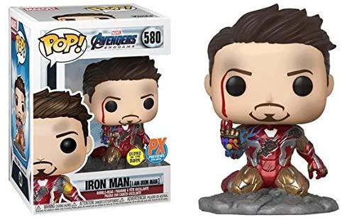 POP! Funko Marvel End Game I Am Iron Man Glow in The Dark Vinyl Figure - PX Exclusive