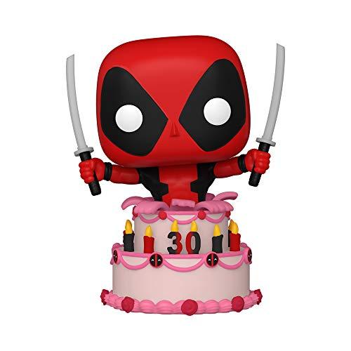 POP Marvel: Deadpool 30th - Deadpool in Cake, Multicolor, Standard