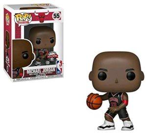 POP! NBA Bulls Michael Jordan Vinyl Figure (Black Jersey) #55 Exclusive