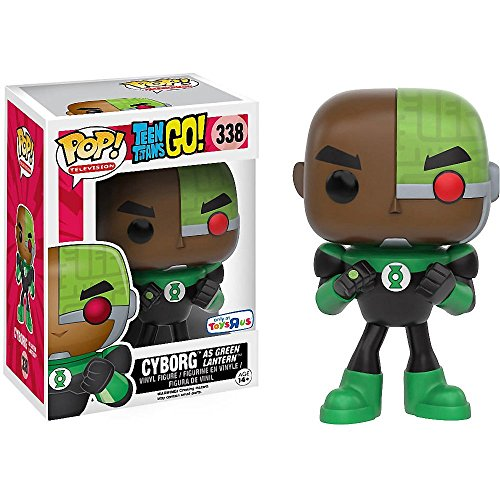 POP! Television: Teen Titans GO: Cyborg as Green Lantern TRU Exclusive …