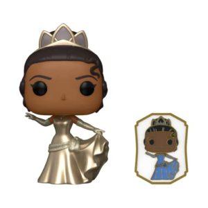 POP! Ultimate Princess Collection - Tiana POP & Pin Vinyl Figure - Shop Exclusive