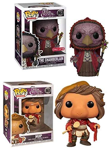 Podling Creations Funko Pop! Figure Television The Dark Crystal Age of Resistance Jim Henson Bundle Hup + The Chamberlain Store Exclusive Store Exclusive 2 Items