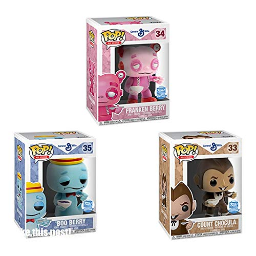 Pop! Ad Icons Funko Cereal Monsters 3-Pack